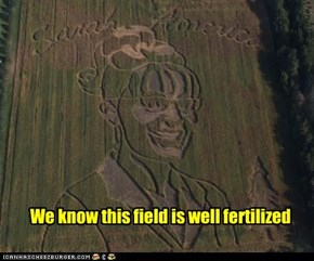 We know this field is well fertilized
