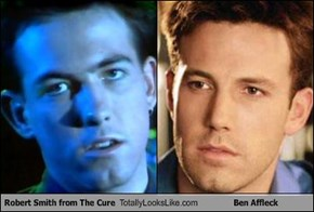 Robert Smith from The Cure Totally Looks Like Ben Affleck