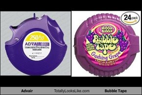 Advair Totally Looks Like Bubble Tape