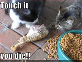Touch it   you die!!
