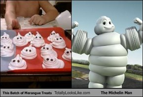 This Batch of Merangue Treats Totally Looks Like The Michelin Man