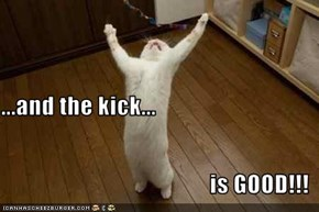 ...and the kick... is GOOD!!!