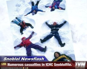 Snoblol Newsflash - Numerous casualties in ICHC Snoblolfite.