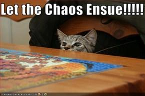 Let the Chaos Ensue!!!!!