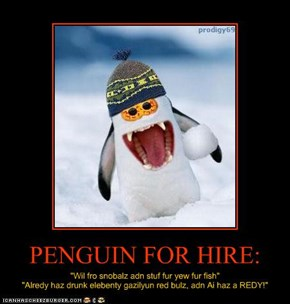 PENGUIN FOR HIRE: