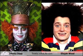 Johnny Depp Totally Looks Like Eliajah Wood