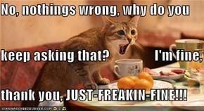 No, nothings wrong,