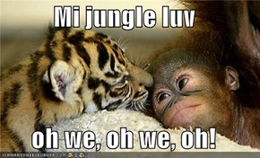 Mi jungle luv  oh we, oh we, oh!
