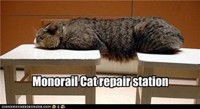 Monorail Cat repair station