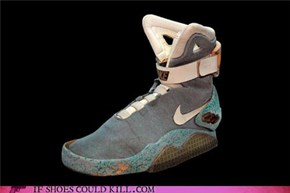 Own The Original Back to the Future Nikes!