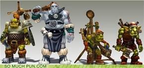 Four Orcs