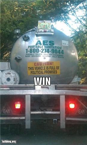 Caution WIN