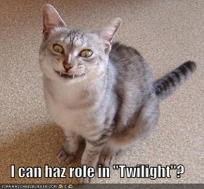 "I can haz role in ""Twilight""?"