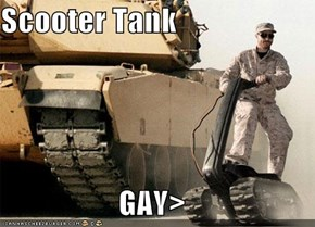 Scooter Tank  GAY>