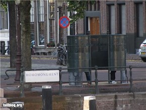 Homomonument Fail