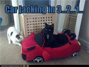 Car jacking in 3...2...1...