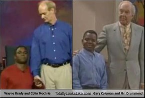 Wayne Brady and Colin Mochrie Totally Looks Like Gary Coleman and Mr. Drummond