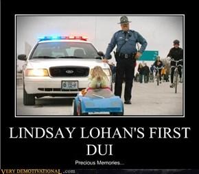 Lindsay Lohan's First DUI