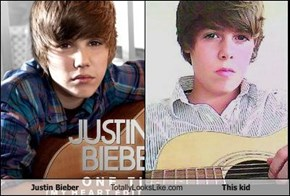 Justin Bieber Totally Looks Like This kid