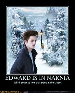 EDWARD IS IN NARNIA