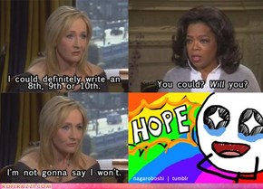 No Points for Vagueness, Rowling!