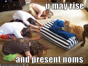 u may rise  and present noms
