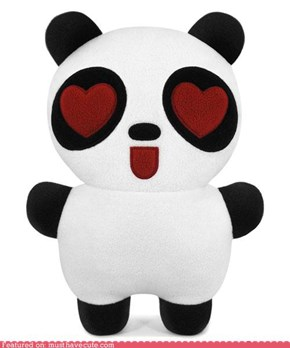 Panda Plush in Love