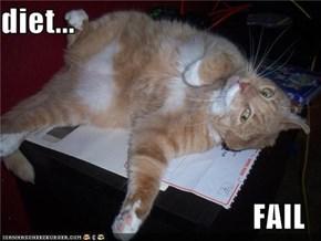 diet...                                          FAIL