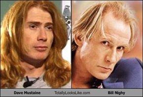 Dave Mustaine Totally Looks Like Bill Nighy