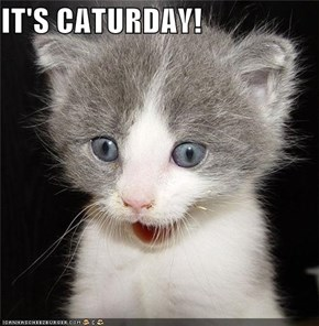 IT'S CATURDAY!
