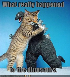 What really happened  to the dinosaurs.