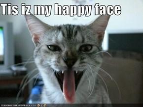 Tis iz my happy face