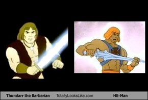 Thundarr the Barbarian Totally Looks Like HE-Man