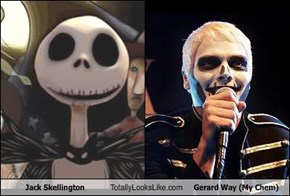 Jack Skellington Totally Looks Like Gerard Way (My Chem)