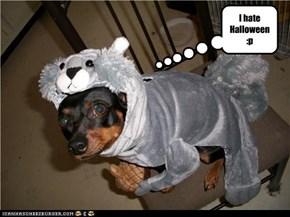 I hate Halloween :p