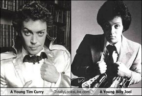 A Young Tim Curry Totally Looks Like A Young Billy Joel