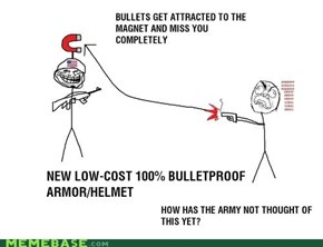 Troll Physics: Bulletproof