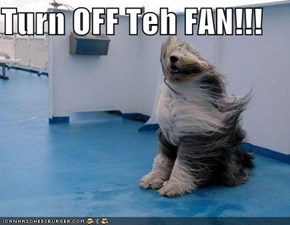 Turn OFF Teh FAN!!!