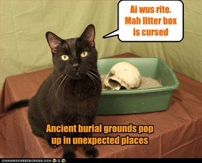 Ancient burial grounds pop up in unexpected places