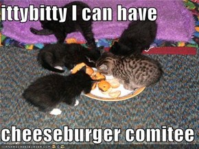 ittybitty I can have  cheeseburger comitee