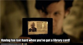 Having fun isnt hard when you've got a library card!