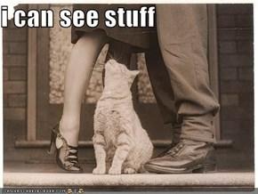 i can see stuff