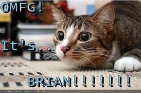 OMFG! It's..    BRIAN!!!!!!!