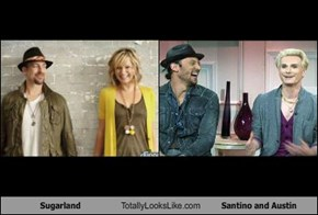 Sugarland Totally Looks Like Santino and Austin