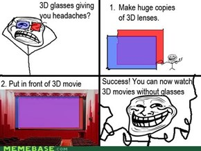 Troll Science: 3D!