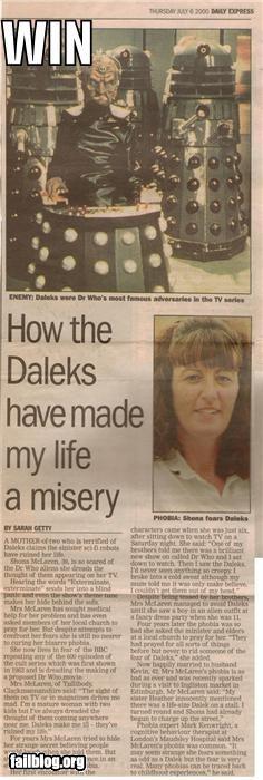 Daleks Win