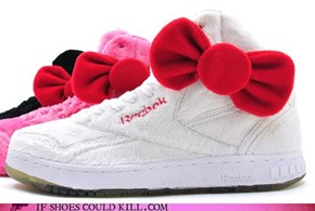 Hello Kitty Reeboks