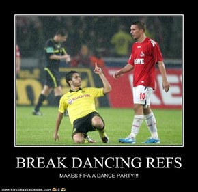 BREAK DANCING REFS