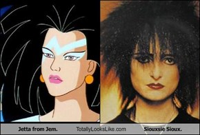 Jetta from Jem. Totally Looks Like Siouxsie Sioux.