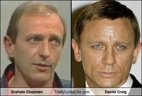 Graham Chapman Totally Looks Like Daniel Craig